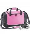 Roze tas voor de sportschool 47 x 30 x 27 cm