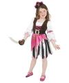 Carnavalskleding Roze piraten kostuum voor meisjes