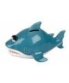 Kado spaarpot haai 20 cm