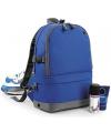 Reistas backpack blauw 18 liter