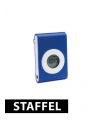 Pedometer blauw met riemclip