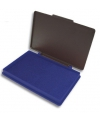 Blauw stempeldoosje 7 x 11 cm