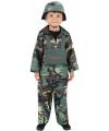 Carnavalskleding Stoer leger kostuum voor kinderen