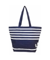 Blauwe strand tassen 58 cm