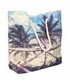Strand reistas met tropische print type 3