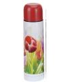 Warmhoud fles 500 ml tulpen thema