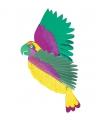 Feestartikelen Tropische decoratie papegaai