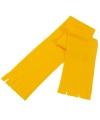 Voordelige gele sjaal voor kinderen