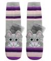Kat sokken met gel chip