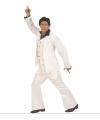 Carnavalskleding Wit disco fever pak voor heren