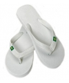 Heren teenslippers in de kleur wit