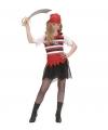Carnavalskleding Zeerovers meisjes kostuum